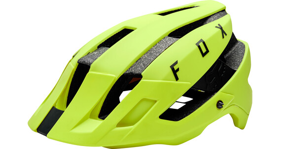 Fox Flux Helmet Mips Men yellow/black
